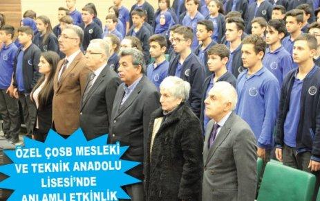 '12 Mart İstiklal Marşı'nın kabulü ve Mehmet Akif Ersoy'u anma programı düzenlendi