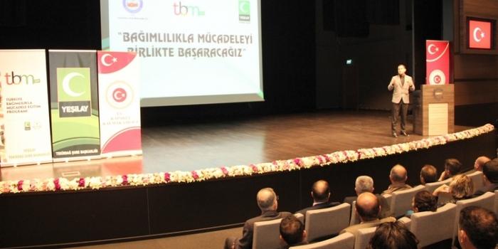 ÇOSB, bağımlılıkla mücadele eğitimlerine ev sahipliği yaptı