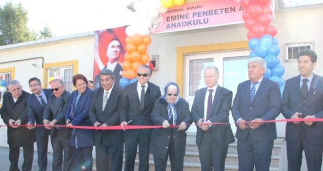 Emine Penbeten Adal Anaokulu törenle açıldı
