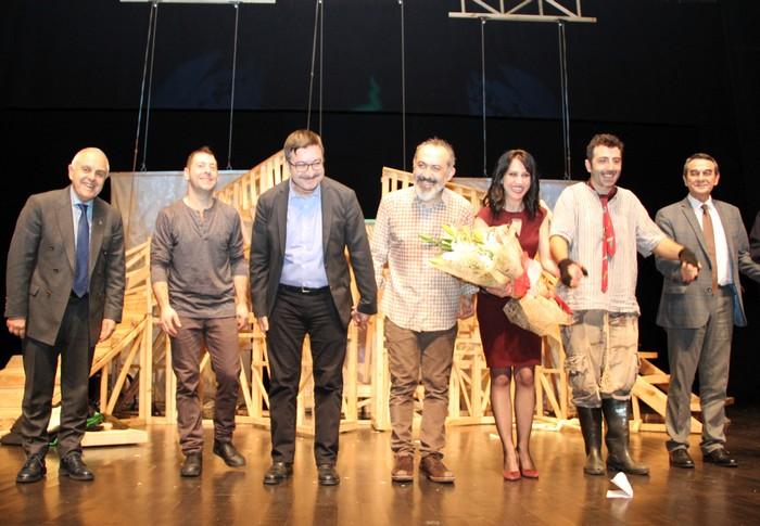 ÇOSB'de 'İntiharın Genel Provası' isimli tiyatro oyunu sahnelendi