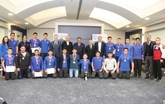 Özel ÇOSB Mesleki ve Teknik Lisesi öğrencileri sporda da başarılı