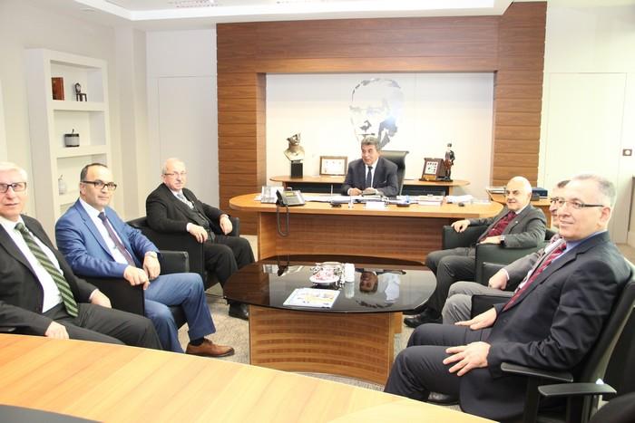 Tekirdağ Büyükşehir Belediye Başkanından ÇOSB yönetimine ziyaret
