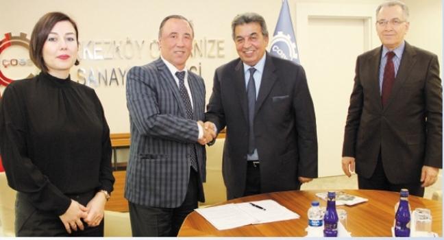 ÇOSB ile İstanbul Rumeli Üniversitesi arasında protokol imzalandı