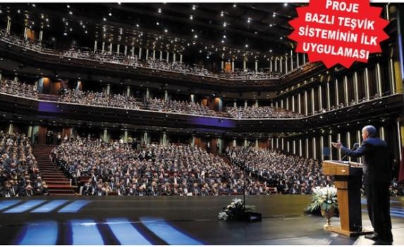Erdoğan: Devletin tüm imkânlarını iş dünyamızın istifadesine sunuyoruz