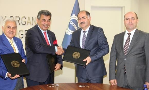 ÇOSB ile NKÜ arasında 'Eğitim ve Öğretim İşbirliği Protokolü' imzalandı