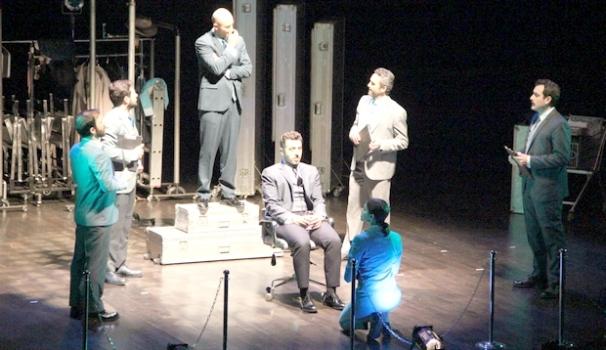 ÇOSB'de 'İvan İvanoviç Var Mıydı, Yok Muydu?' sahnelendi