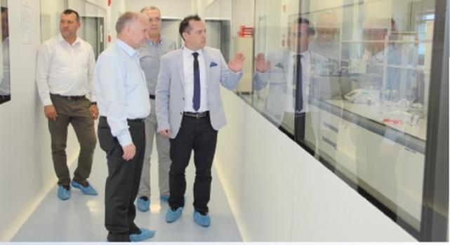 Tekirdağ Valisi Ceylan ÇOSB'de fabrikaları gezdi