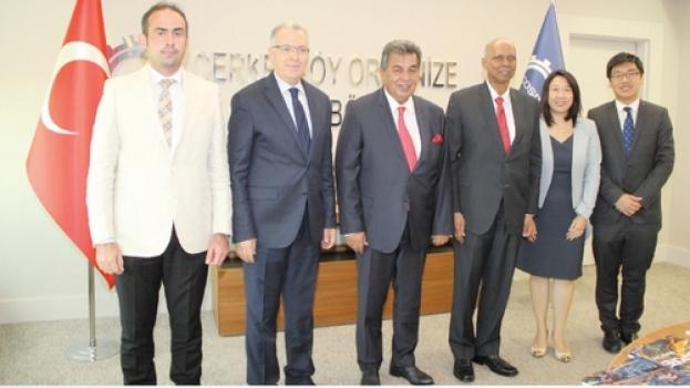 Singapur Büyükelçiliği'nden ÇOSB'ye ziyaret