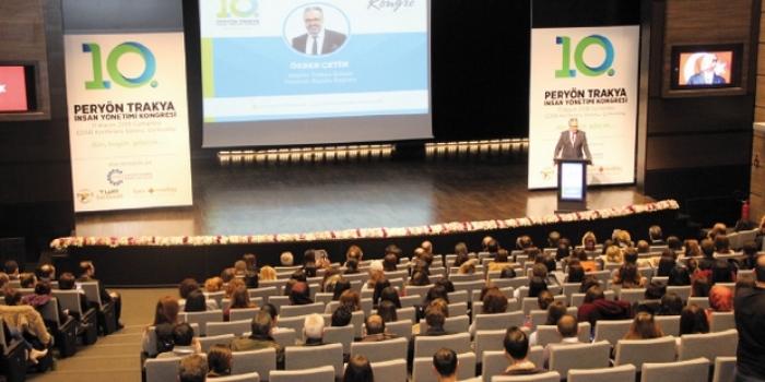 10. Peryön Trakya İnsan Yönetim Kongresi ÇOSB'de yapıldı