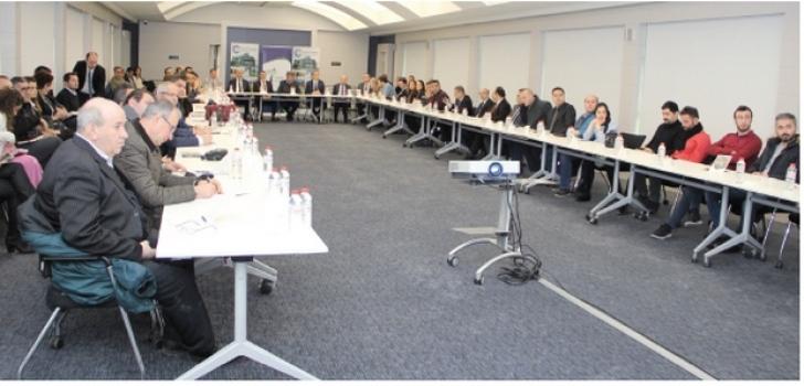 Mesleki eğitim ÇOSB'de masaya yatırıldı