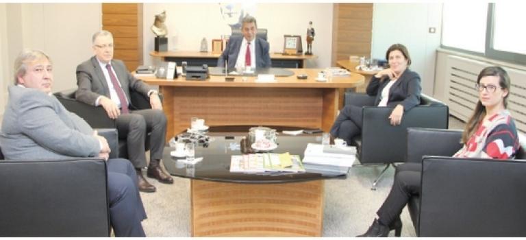 Alman-Türk Ticaret ve Sanayi Odası'ndan ÇOSB'ye ziyaret