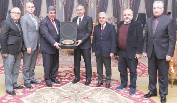 İstanbul Valisi Ali Yerlikaya'ya hayırlı olsun ziyareti…