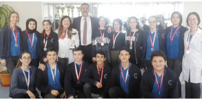 Özel ÇOSB Mesleki ve Teknik Anadolu Lisesi  il ikincisi oldu
