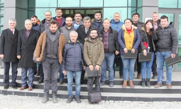 Sözdinler, Çerkezköy ve Kapaklı'daki gazetecilerle bir araya geldi