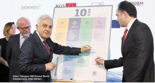 ÇOSB, Birleşmiş Milletler Küresel İlkeler Sözleşmesine imza attı