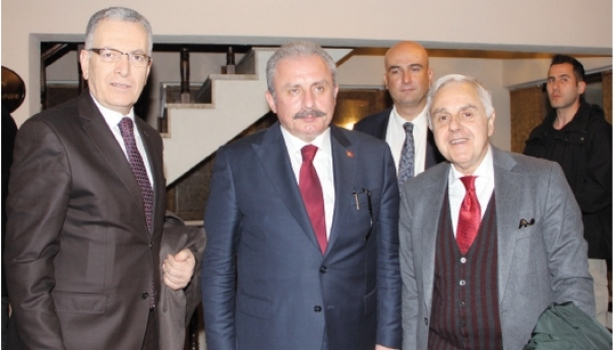 ÇOSB yönetimi TBMM Başkanı Mustafa Şentop ile bölge sanayisini konuştu
