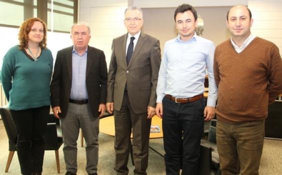 İzmir Atatürk ve Bursa Demirtaş OSB'den ÇOSB'ye teknik gezi