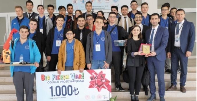 Özel ÇOSB Mesleki ve Teknik Anadolu Lisesi 'Bir Fikrim Var Projesi'nde Tekirdağ 4'üncüsü oldu…