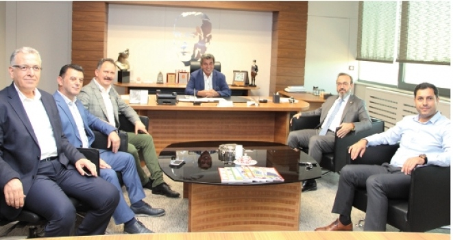 AK Parti Tekirdağ Milletvekili Mustafa Yel'den ÇOSB'ye ziyaret