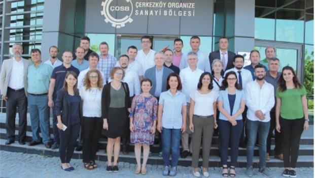 ÇOSB 2019 Yılı I. Dönem Yönetim Gözden Geçirme (YGG) toplantısı yapıldı