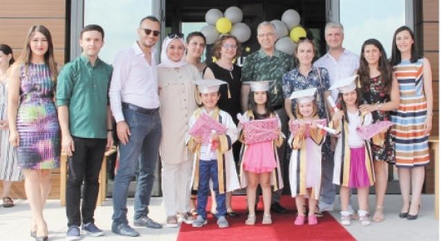 Özel ÇOSB Kreş ve Gündüz Bakımevi mezuniyet defilesi