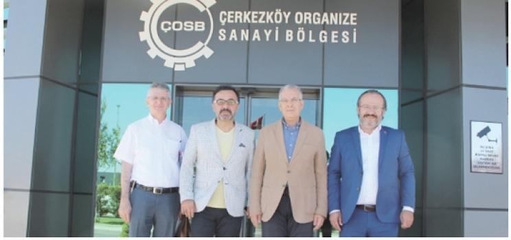 Yalova İMES OSB'den ÇOSB'ye teknik gezi