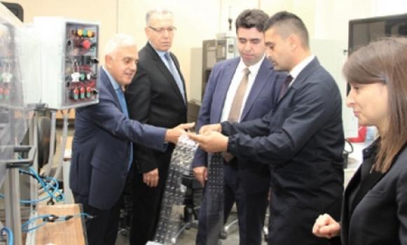 Tekirdağ Vali Yardımcısı Murat Eren'den ÇOSB'ye ziyaret