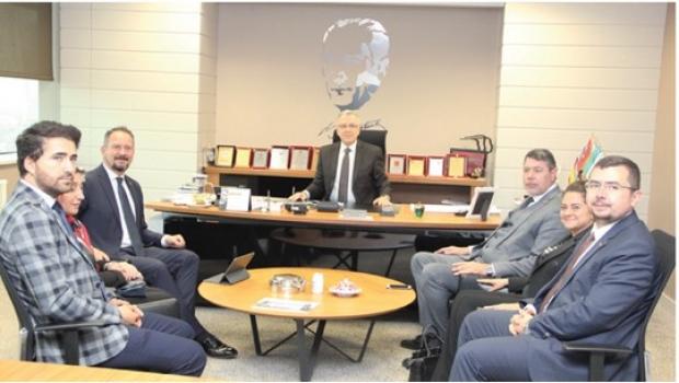 AK Parti Tekirdağ İl Başkanı Özcan'dan ÇOSB'ye ziyaret