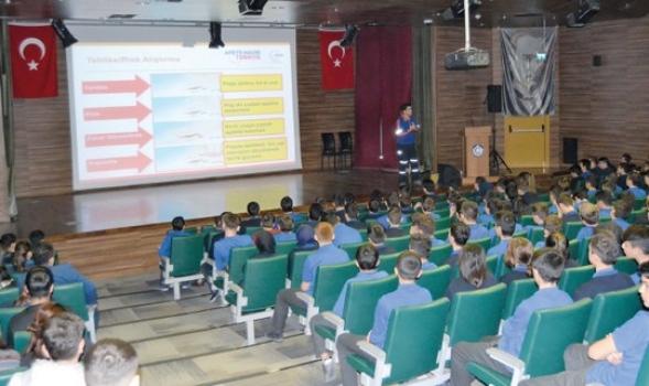 ÇOSB personeline Acil Durum ve Deprem Eğitimi