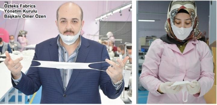 Özteks Fabrics yıkanabilir maske üretti