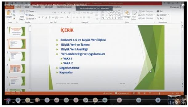 ÇOSB dijital ortamda çok sayıda online seminer düzenledi