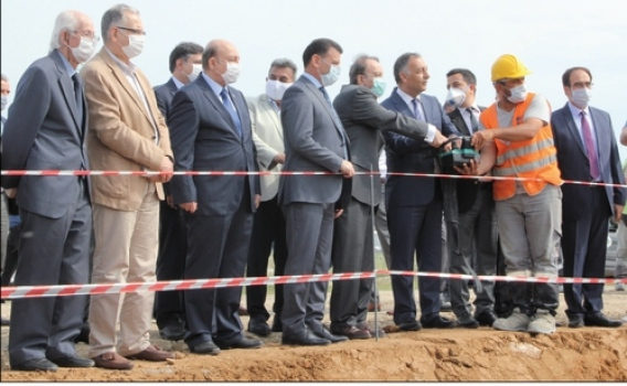 Koçak Farma tarafından yaptırılan 21 derslikli okulun temeli törenle atıldı