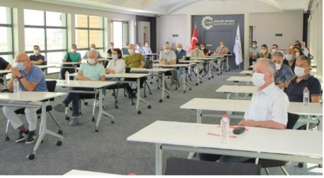 İşyeri hekimleri bilgilendirme toplantısı ÇOSB'de yapıldı