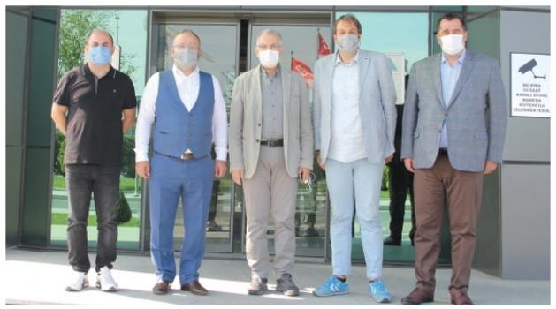 İstanbul Deri Organize Sanayi Bölgesi'nden ÇOSB'ye teknik gezi