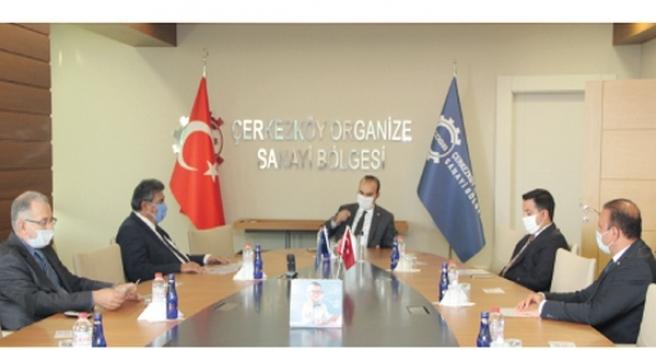 Sanayi ve Teknoloji Bakan Yardımcısı Kacır'dan ÇOSB'ye ziyaret