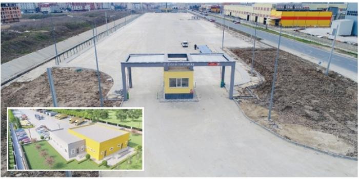 ÇOSB 2. Kısım TIR Parkı faaliyete geçiyor