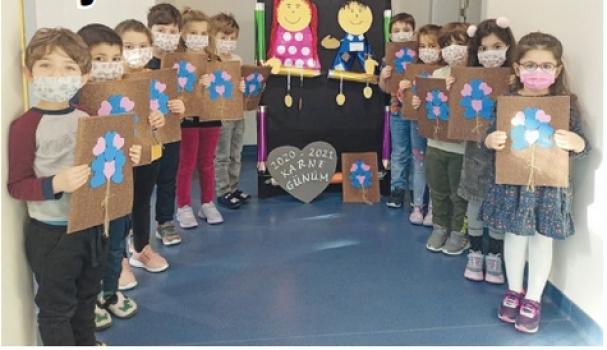 Özel ÇOSB Kreş ve Gündüz Bakımevi'nde 'karne' heyecanı