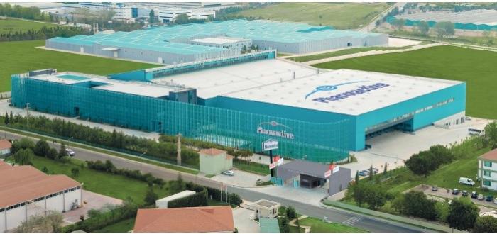 Yeşil Elektrik Sertifikası ve Sıfır Atık Belgesine sahip örnek fabrika Pharmactive İlaç