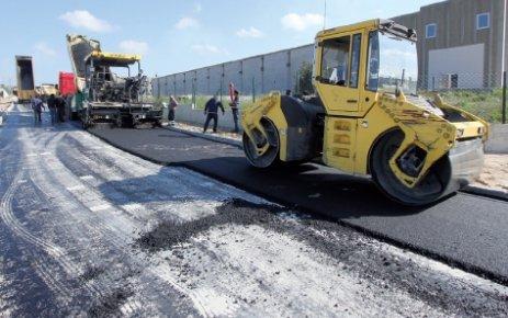 34 bin 500 metrekarelik yol asfaltlandı
