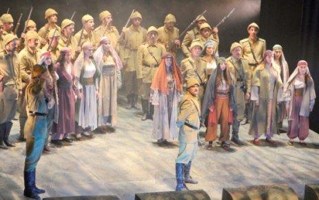 57. Alay Tiyatro Oyunu ÇOSB Konferans Salonu'nda sahnelendi…