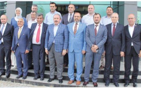 AK Parti heyetinden ÇOSB'ye ziyaret