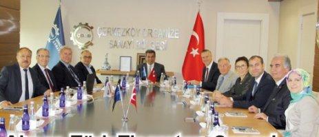 Alman Türk Ticaret ve Sanayi Odası'ndan ÇOSB'ye ziyaret