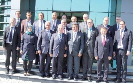 Alman ULM Ticaret ve Sanayi Odası'ndan ÇOSB'ye ziyaret