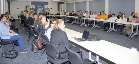 Ar-Ge Merkezleri tecrübelerini ÇOSB'de paylaştı