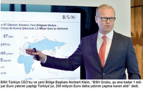 BSH Türkiye, 87 ülkenin bölgesel merkezi oldu