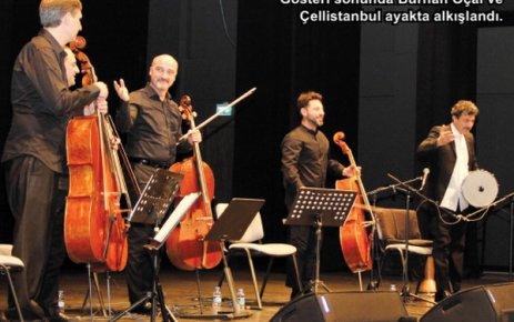 Burhan Öçal ve Çellistanbul ÇOSB'de sahne aldı…