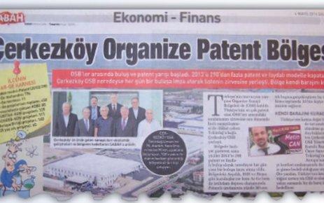 Çerkezköy Organize Patent Bölgesi