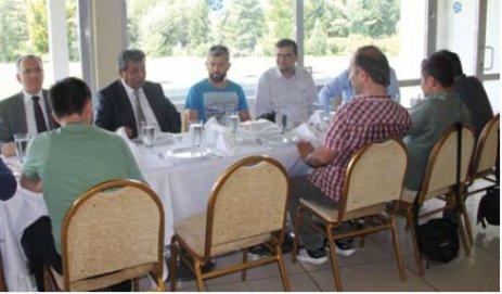 ÇOSB Başkanı Sözdinler gazetecilerle bir araya geldi