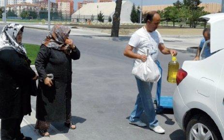 ÇOSB Bölge Müdürlüğü 623 ihtiyaç sahibi aileye Ramazan erzakı dağıttı