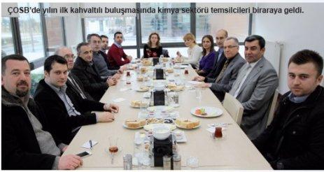 ÇOSB, kahvaltı etkinliğinde sanayi ve akademi dünyasını buluşturuyor